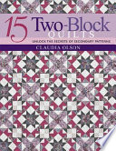 15 Two-Block Quilts