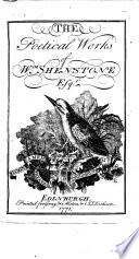 The Poetical Works Of Wm. Shenstone ... : ...