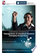 INTERNATIONAL CONFERENCE ON Management of Globalized Business  Emerging Perspectives