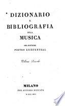 Dizionario e bibliografia della musica del dottore Pietro Lichtenthal  Volume primo  quarto