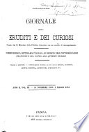 Giornale degli eruditi e dei curiosi