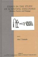 Essays in the Study of Scientific Discourse