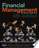 Financial Management  Principles and Applications