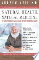 Natural Health  Natural Medicine
