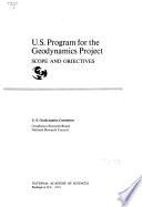 U S  Program for the Geodynamics Project