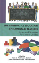 The Mathematics Education of Elementary Teachers
