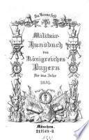 """""""In Treue fest"""" Militair-Handbuch des Königreiches Bayern für das Jahr ..."""