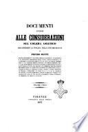 Documenti annessi alle considerazioni sul colera asiatico che contristò la Toscana nelli anni 1835-36-37-49 di Pietro Betti