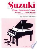 Suzuki Piano Ensemble Music for Piano Duet  Vol 1  Second Piano Accompaniments