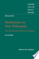Descartes  Meditations on First Philosophy