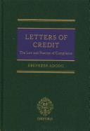Letters of Credit: Law and Practice on Compliance