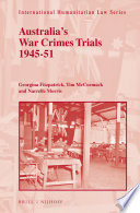 Australia S War Crimes Trials 1945 51