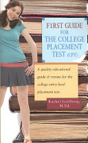 F1rst Guide for the College Placement Test  CPT