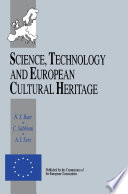 Science  Technology and European Cultural Heritage