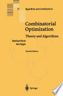 Combinatorial Optimization book