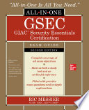 Gsec Giac Security Essentials Certification All In One Exam Guide Second Edition