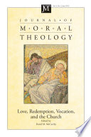 Journal of Moral Theology  Volume 4  Number 2