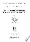 United States Army In World War Ii The Technical Services V
