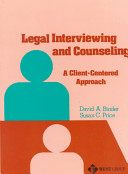 Legal Interviewing And Counseling