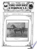 The Saddle and Show Horse Chronicle