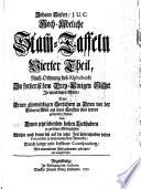 Hoch-Adeliche Stam[m]-Taffeln