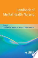 Handbook Of Mental Health Nursing