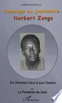 Hommage au journaliste Norbert Zongo