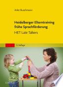 Heidelberger Elterntraining fr  he Sprachf  rderung