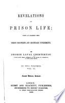 Revelations Of Prison Life