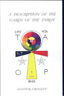 A Description of the Cards of the Tarot Equinox In 1912 In Is