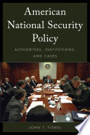 American National Security Policy