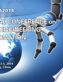 2014 International Conference on Mechanical Engineering and Automation  ICMEA2014