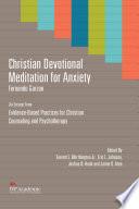 Christian Devotional Meditation For Anxiety