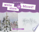 Winter Storm or Blizzard  Book PDF