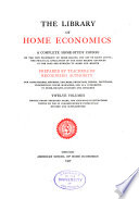 The Library of Home Economics  Personal hygiene