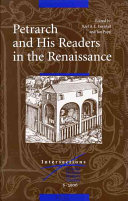 Petrarch and His Readers in the Renaissance