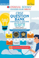 Oswaal CBSE Question Bank Class 10 Social Science Book Chapterwise   Topicwise Includes Objective Types   MCQ s  For 2022 Exam
