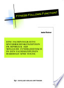 """Fitness follows function?"""