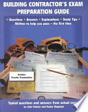 Building Contractor s Exam Preparation Guide