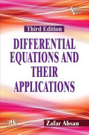 DIFFERENTIAL EQUATIONS AND THEIR APPLICATIONS Book