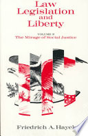 Law Legislation And Liberty Volume 2 book