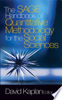 The SAGE Handbook of Quantitative Methodology for the Social Sciences