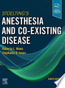 Stoelting S Anesthesia And Co Existing Disease E Book