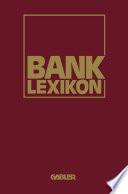 Bank-Lexikon