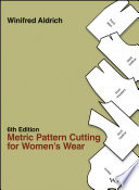 Metric Pattern Cutting For Women S Wear