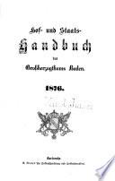 Hof- und Staats-Handbuch des Grossherzogthums Baden