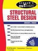 Schaum S Outline Of Structural Steel Design