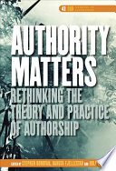 Authority Matters