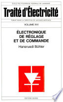 Electronique de réglage et de commande