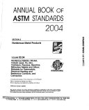 Annual Book of ASTM Standards 2004